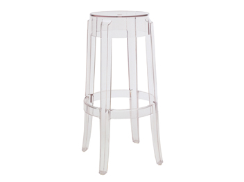 tabouret charles ghost kartell location mobilier