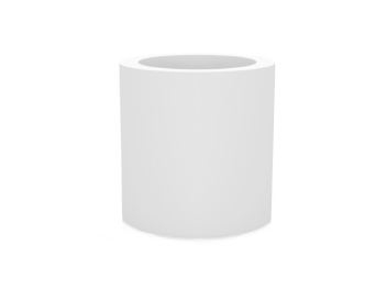 Pot cilindro blanc vondom location mobilier d 39 ext rieur for Location mobilier exterieur