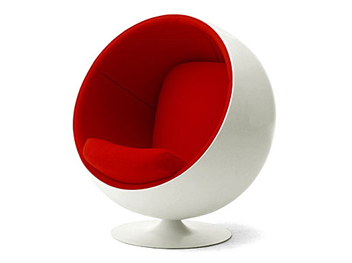 location ball chair eero aarnio fauteuil d'exception