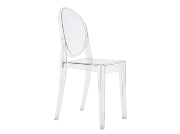 chaise kartell victoria ghost translucide philippe starck location mobilier